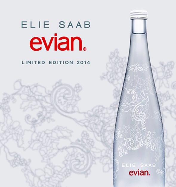 Evian Edition Limitee Noel 2014 Noel 2013 3 Evian Edition Limitée 2014 : Inspirée par A Lace Garden dElie Saab (video)