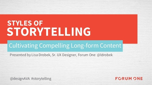Styles of Storytelling: Cultivating Compelling Long-form Content