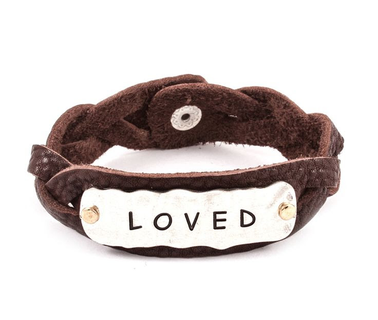 Loved Bracelet in Brown Leather