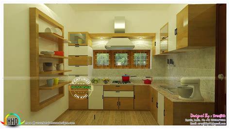 modular kitchen design trends  kerala home design
