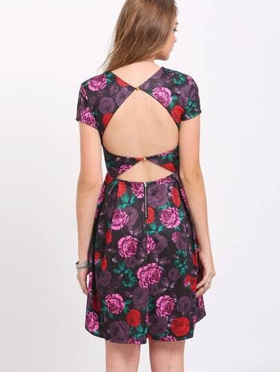 Surplice Color Block Maxi Dress box near cheap