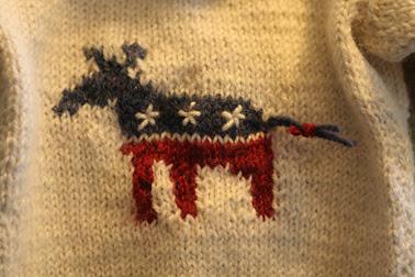 Donkey Intarsia