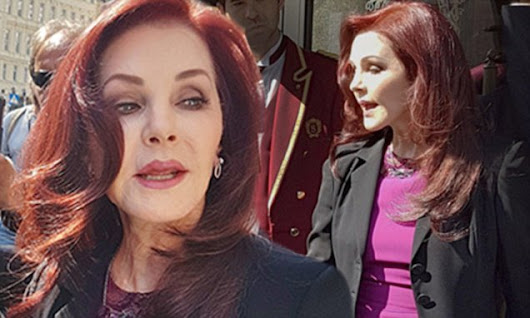 Elvis' widow Priscilla Presley, 71, looks youthful