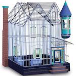 Prevue Featherstone Heights Victorian Bird Cage