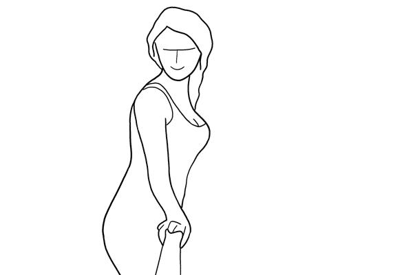Позирование: позы для женского портрета 2-21