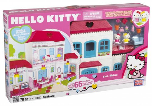 Toy Game Megabloks Hello Kitty House - Hello Kitty MegaBloks