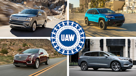 19 SUVs Made in America by the UAW