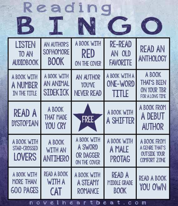 NH reading bingo