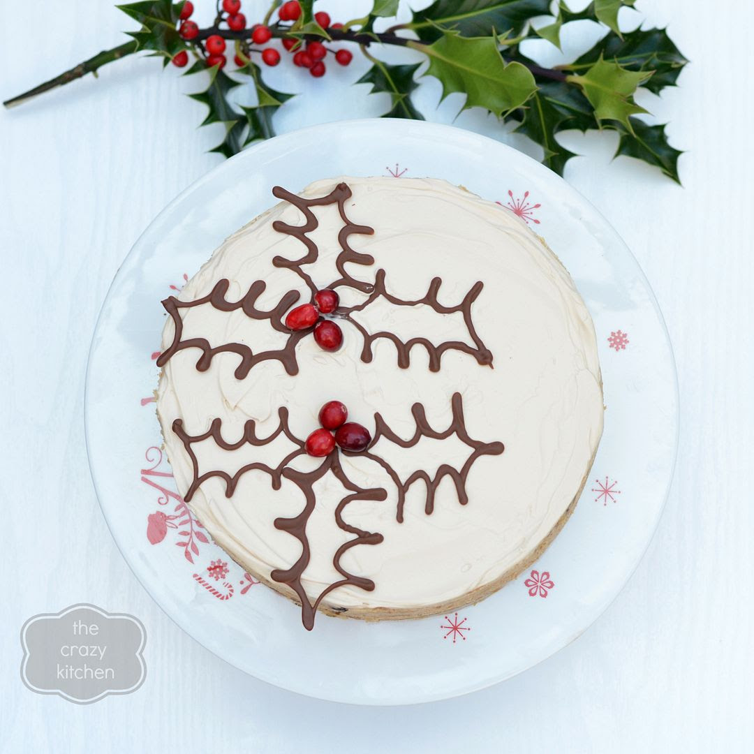 Christmas Pudding Cheesecake