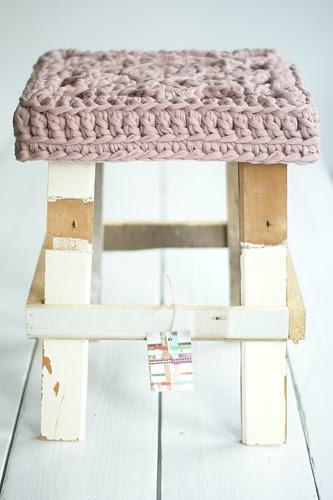 wood & wool (winter) stool by wood & wool stool