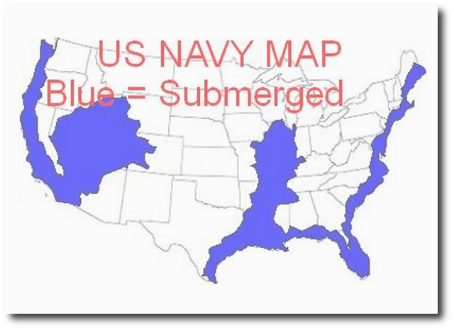 Us Navy Map After Earthquake