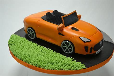 F Type Jaguar Car Cake   Celebration Cakes   Cakeology