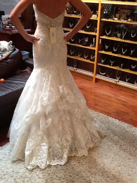 French bustle    Bridal Musings   Weddi