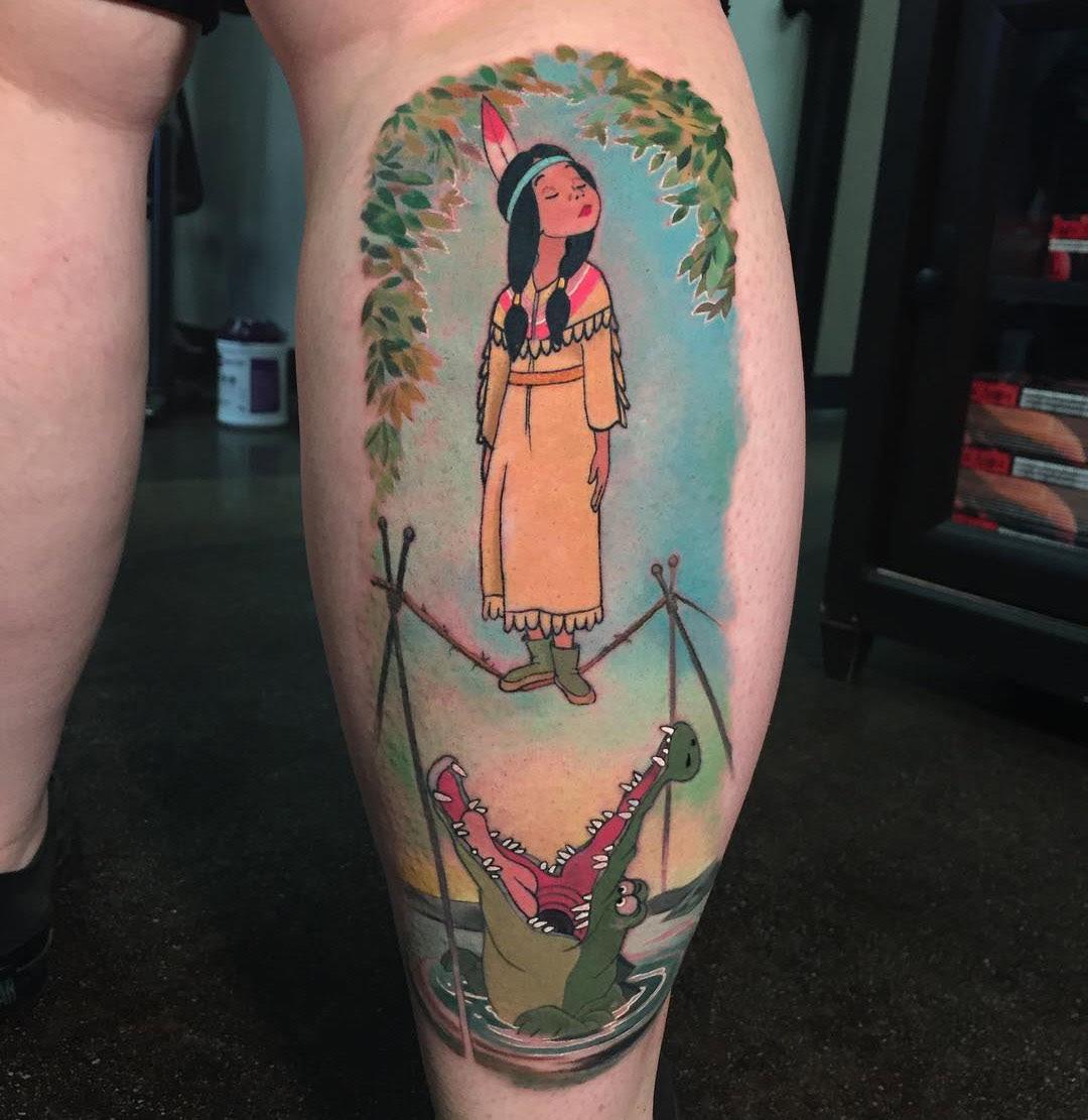Tiger Lily Tick Tock Best Tattoo Design Ideas