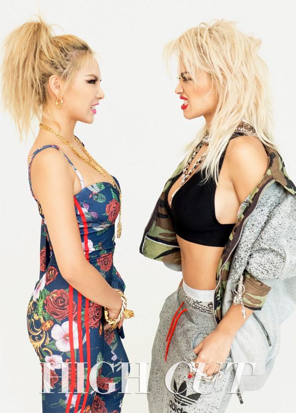 2NE1 CL and Rita Ora - High Cut Magazine Vol.136
