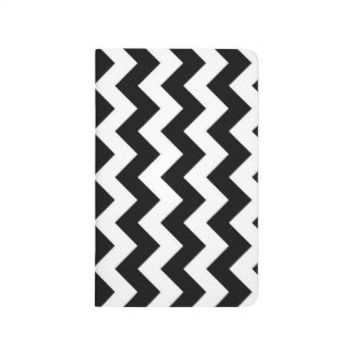 Black and White Zigzag Journals