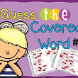 Cloze Reading - Poetry {Poem of the Week} Guess the Covered Word #1