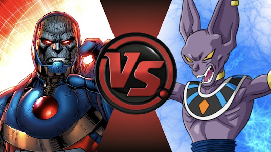 NEW 52 DARKSEID vs BEERUS! Cartoon Fight Club Episode 112 - YouTube