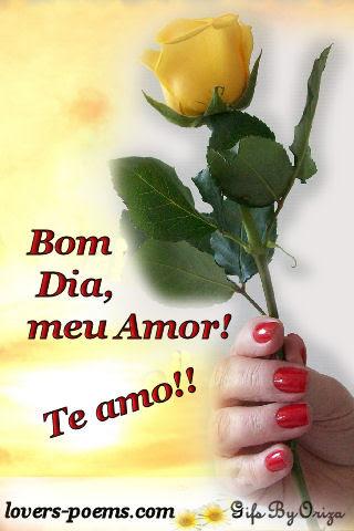 Bom Dia Meu Amor Te Amo 2 Mensagens Romanticas A Volta Do