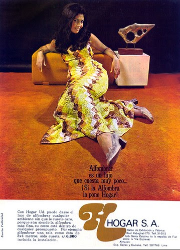 Peruvian carpet ad