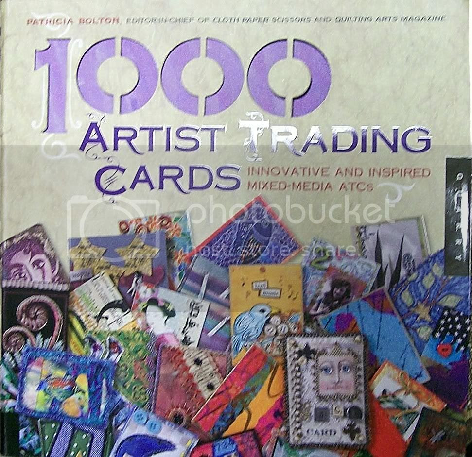 1000 Artist Trading Cards by Patricia Bolton