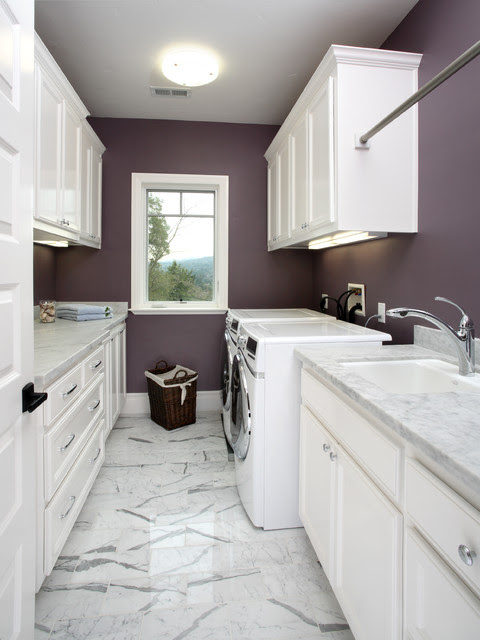 Ideas For A Laundry Inside The Bathroom | Best Modern Furniture ...