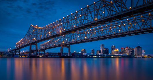 One Photo | Crescent City Connection, New Orleans | Travel Photography