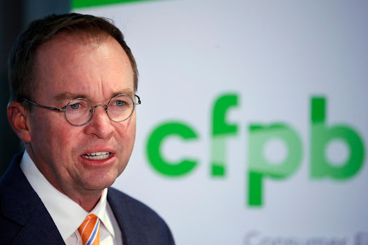 Report: CFPB's Equifax Probe Stalls as Mulvaney Defangs Watchdog | Economy | US News