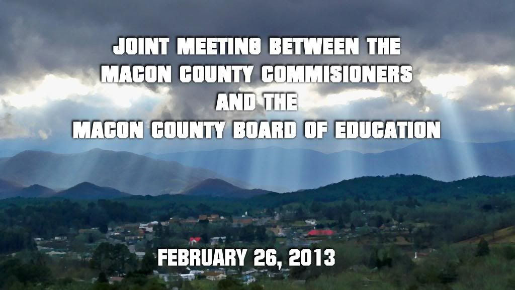 County Commissioners Meet With Board of Education