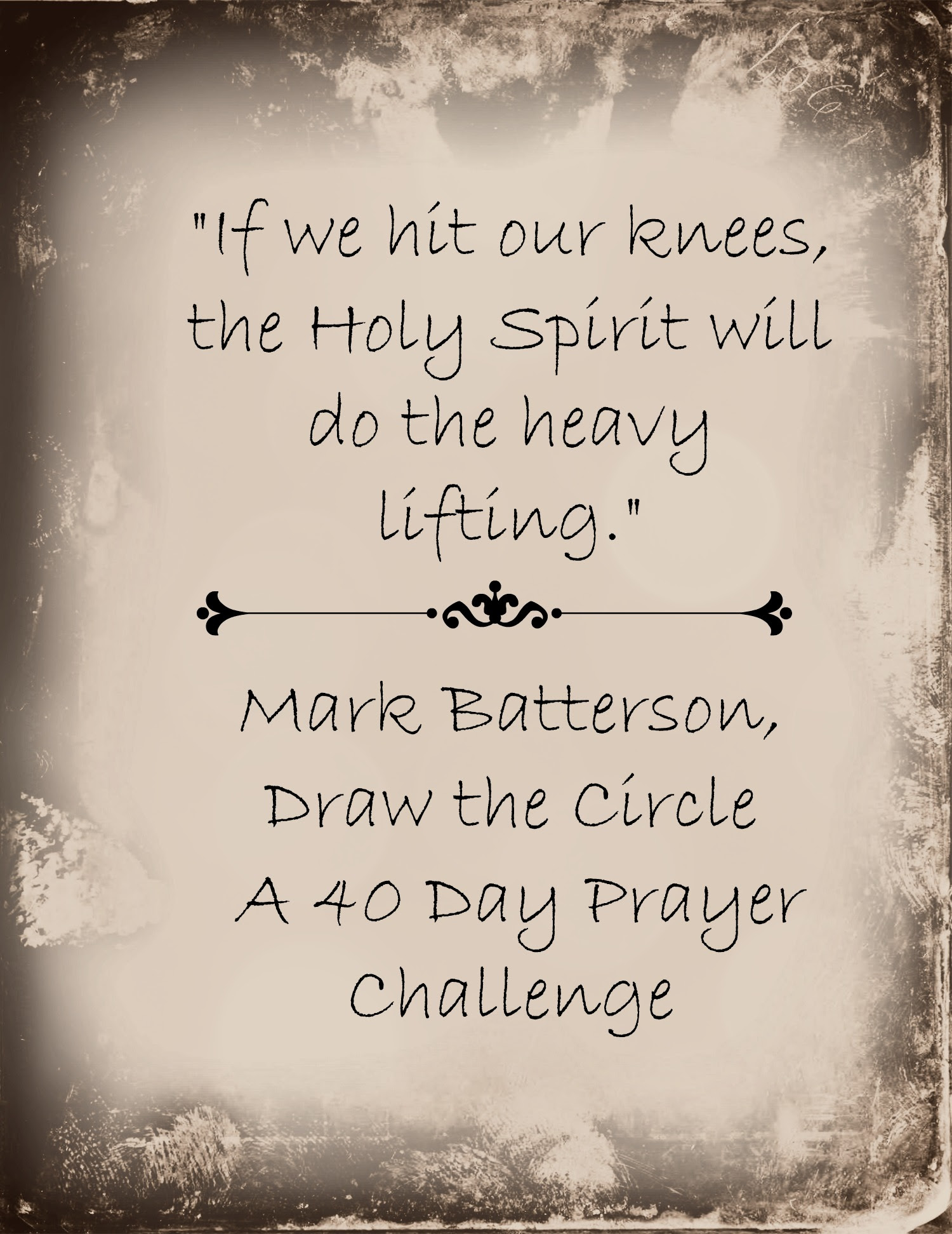 Image result for mark batterson 40 day prayer challenge
