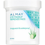 Almay Eye Makeup Remover Pads, Longwear & Waterproof 80 ea by Pharmapacks
