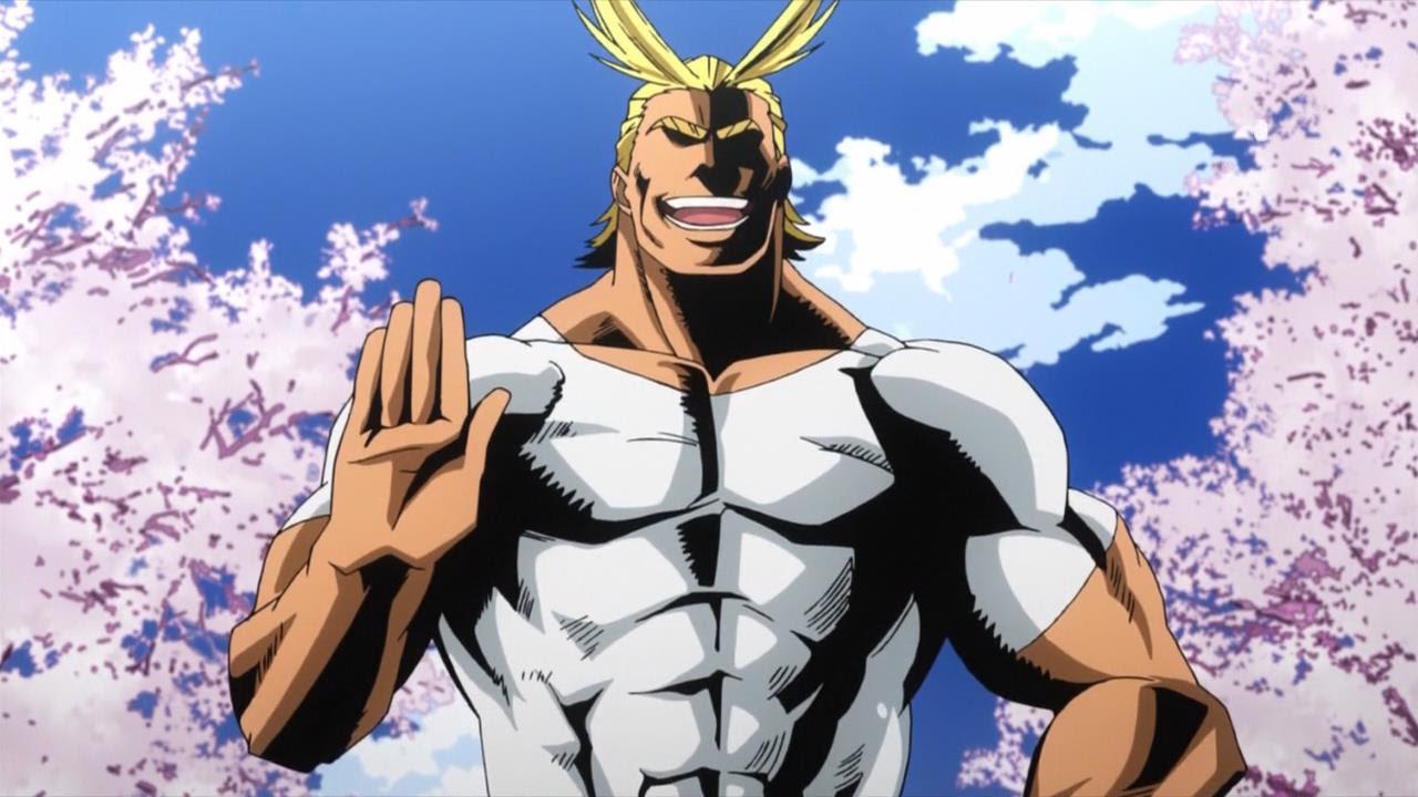 Boku No Hero Academia All Might Wallpaper Hd Anime Top Wallpaper
