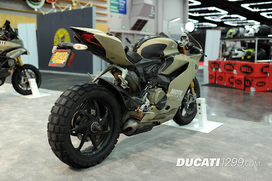 MotoCorsa Ducati 1199 TerraCorse Pictures - International Motorcycle Show - Ducati 1299 Forum