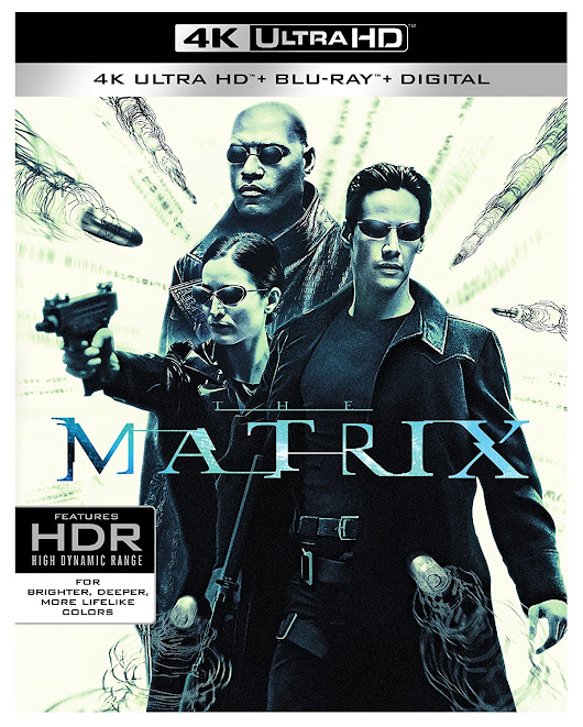The Matrix on 4K Ultra HD: Cover Art and Release Date