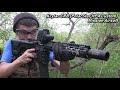 250 Macam Tembakan dari Berbagai Jenis Airsoft Gun AEG-GBB/R