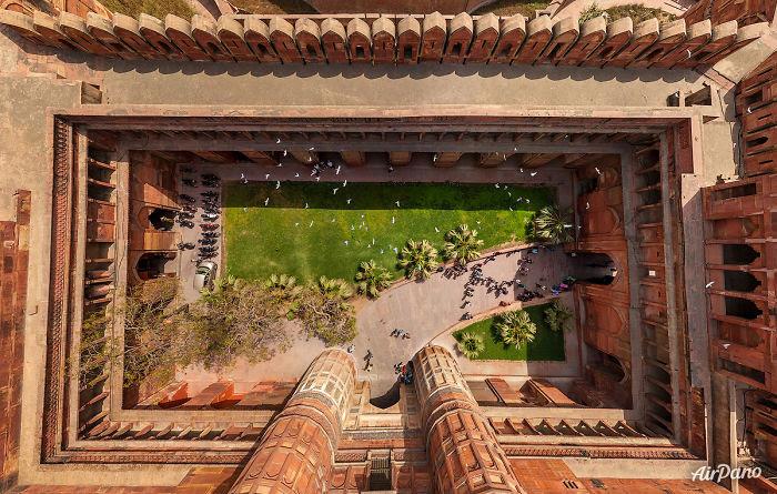 Fuerte Agra, India
