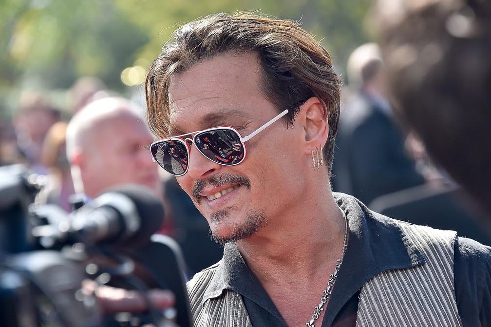 Johnny Depp lança o quinto 'Piratas do Caribe' em Paris (Foto: Divulgação/Disney)
