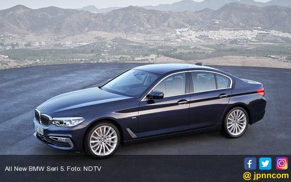Mengintip Kecanggihan Fitur All New BMW Seri 5 - JPNN.COM