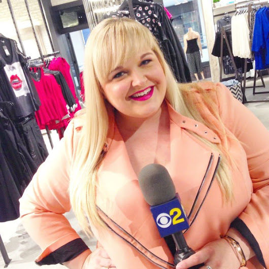 New Plus Size Fashion Segment With CBS 2 LA | Styled By Reah