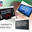 NFL Football Season 2013 | Monday Night Football TV Schedule | 2013 NFL Playoff Schedule-Super Bowl