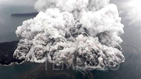 kata vulkanolog itb soal anak gunung krakatau