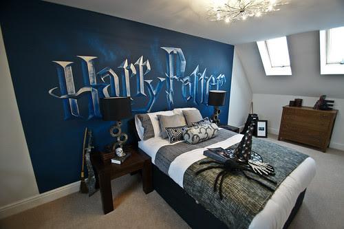 Harry Potter mural room SweetartMurals