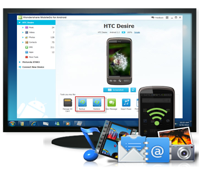 Android Data Recovery\/Transfer software Center
