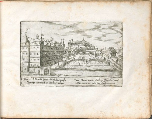 campus grounds at Tubingen University, 1600