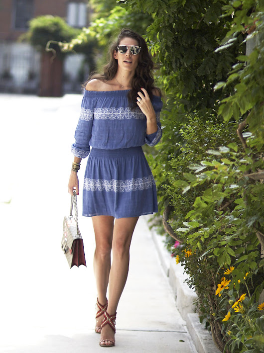 The Off-The-Shoulder Trend - Accessories Gal Blog by E.Kammeyer