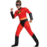 Disguise Costumes Incredibles 2 Dash Classic Supersuit Boy's Costume