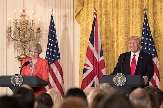 Trump Pushes for UK Trade Deal, Scolds Theresa May For Ignoring Brexit Advice - TheStreet