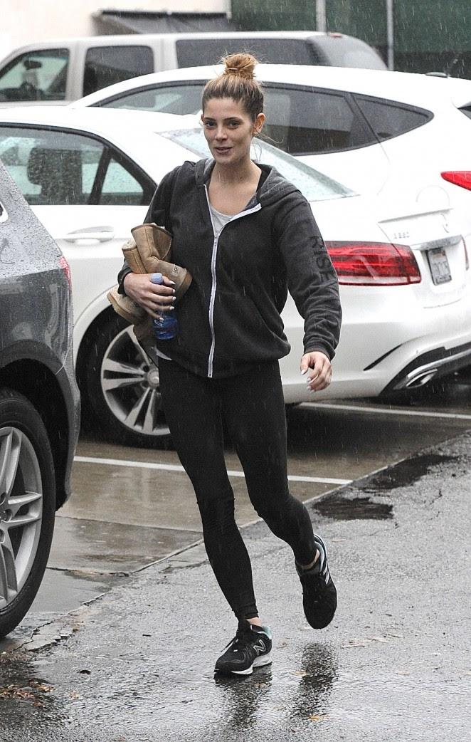 Ashley Greene: Leaving the gym -07