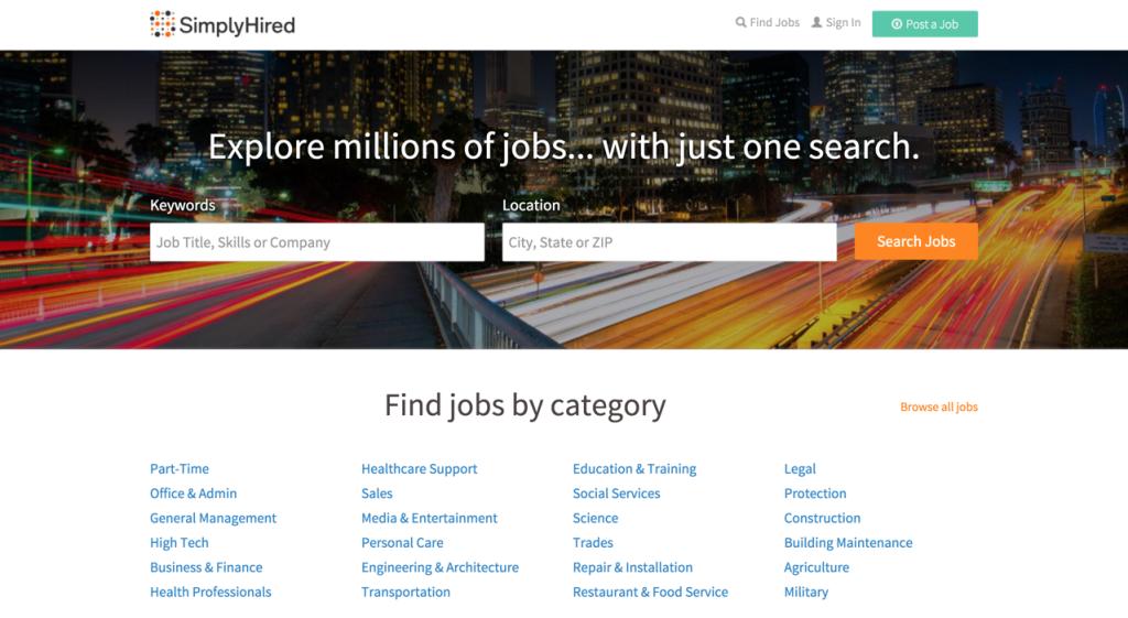 Freelance Site - simplyhired.com