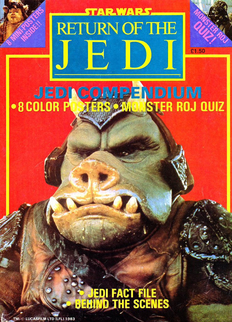 star wars return of the jedi poster magazine compendium 1983